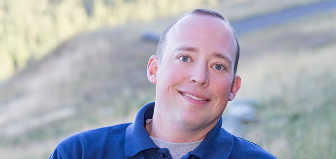 Head shot of Eric Picard outdoors