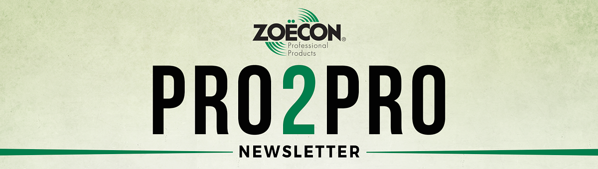 Zoecon Pro 2 Pro Newsletter